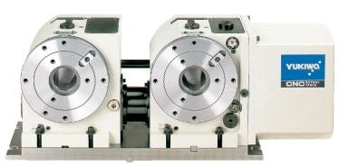 CNC Two-spindle Rotary Table